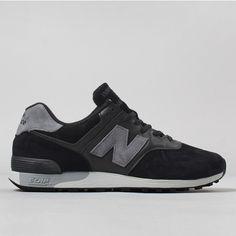 New Balance M576PLK Shoes - Black