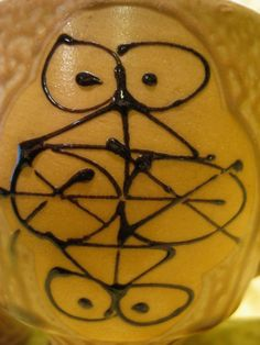 Funky Hand-Painted Glaze Mid Century Modern Stamped Japan Footed Coffee Mug via Etsy