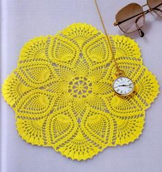 Beautiful Crochet Lace doily -Pattern