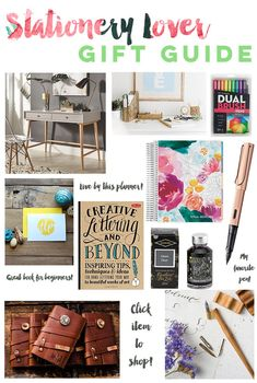 Stationery Lovers Gift Guide | What to buy the paper nerd in your life!