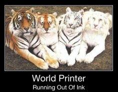 Ink Running Low #printer #ink #world