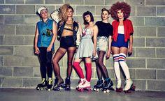 Retour dans les 80s avec Rookie et leur rollers quad vintage | http://bit.ly/1jy1UTt