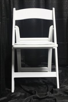 """Resin Folding Chair (Commonly known as the """"Wedding Chair"""") Wedding Chairs, Folding Chair, Wedding Things, Wedding Ceremony, Resin, Wedding Ideas, Home Decor, Decoration Home, Room Decor"""