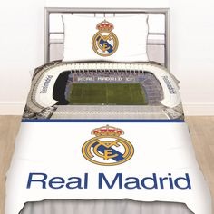 Are you thinking about giving a Real Madrid bed set for your teen-son on his coming birthday? He will be very happy that he sleeps on the bed set cover.