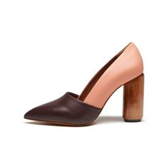 beautiful peach / plum colour summer boot from Mulberry