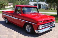 1965 chevy truck | This beautiful 1965 Chevy truck is a frame off restoration with great ...