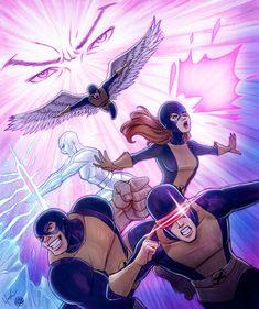Original X-Men Colored by Protokitty.deviantart.com on @deviantART