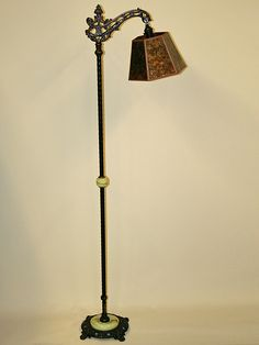 Vintage Art Deco Floor Lamp with Stream Lined Details, c. 1930 ...