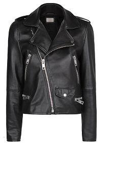 Leather Biker Jacket - Mango