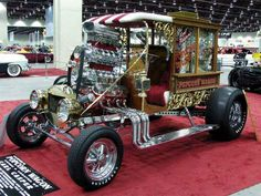 30 of the most unique and bizarre hot rods on the road. You won& believe some of these hot rod modifications. See all 30 of these awesome hot rod. Rat Rod Trucks, Cool Trucks, Chevy Trucks, Truck Drivers, Pickup Trucks, Rat Rod Cars, Diesel Trucks, Semi Trucks, Classic Hot Rod