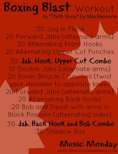 BOXING BLAST WORKOUT