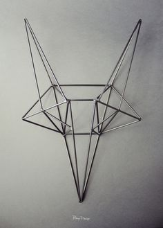 bongo design: steel fox head