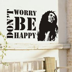cheap wall stickers bob marley music wall decoration home quote sticker wall decor for children vinyl wall stickers for walls $8.90
