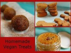 Homemade Vegan Christmas Goodies. #Christmas #goodies