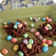 Chocolate Bird Nest Treats