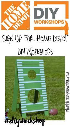 Home Depot DIY Workshop