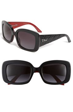 Dior 'Ladylady 2' 53mm Square Sunglasses