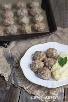 » Guest Post by Vibrant Life Army Wife – Sage and Fennel Meatballs