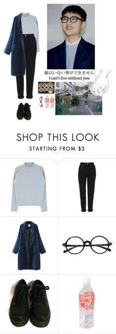 """""""Untitled #152"""" by satansoowifeu ❤ liked on Polyvore featuring Topshop and Dr. Martens"""