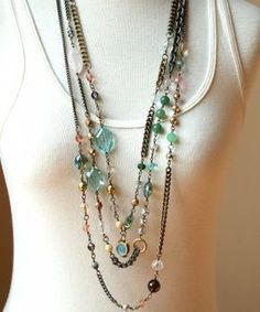 Kenzie... for the girl who loves to be One-of-a-Kind. Sheer Addiction. #BohemianJewelry