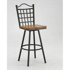 "Tempo Custom Bar Stool (59 Fabrics /18 Finishes) Palmero 34"" Armless Swivel Extra Tall Bar Stool by Tempo. $139.00. Tempo Custom Bar Stool (59 Fabrics /18 Finishes) Features: -34"" Armless Swivel Extra Tall Bar Stool. -Constructed for commercial or residential use. -Pebblestone finish. -Customize with either Mahogany or Oak seat. -16 Gauge steel. -Some assembly required. -Seat height: 34"". TEMPO INDUSTRIES, INC. warrants its iron metal product construction to be free from..."
