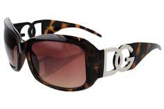 27101b524a Ladies DG Eyewear Polarized Sunglasses 36163PZ Tortoise Brown Frame Brown  Lens with Microfiber Bag DG Eyewear