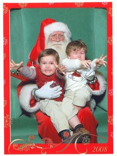 Thought kids loved Santa?