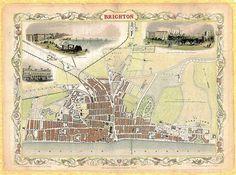 22 Best Brighton Maps images