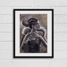 Noble A4 Fantasy Art Print by SefieRosenlund by Sefie Rosenlund @ Etsy. Drawing Tablet, A3, Fantasy Art, Etsy Seller, Digital Art, My Arts, Colours, Art Prints