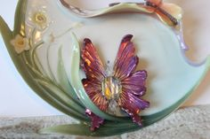 Gorgeous Pink Fantasy Fairy Wing pendant with by TouchofFantasy