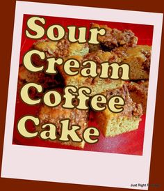 Sour Cream Coffee Cake Trim Healthy Mama Recipe (S) #trimhealthymama