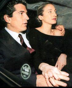 JFK, Jr. and Carolyn Bessette-Kennedy