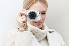 German Fashionblogger Les Attitudes shows a Give Away: Win an Olympus PEN and my Co-Design Camera Bag