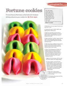 Fortune cookies in Making Magazine   Flickr - Photo Sharing!