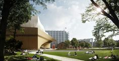 Want! - New Helsinki central library to include sauna after all