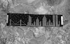 Twin Towers Bead Loom Friendship Bracelet Seed Bead New by Thangz, $30.00