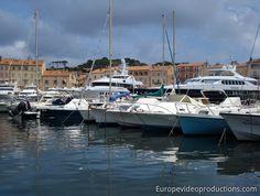 Saint-Tropez an der französischen Riviera
