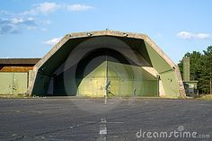 Abandoned Bunkers USA | Abandoned hardened aircraft shelter on former RAF Laarbruch airbase ...
