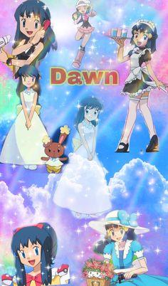 Ash And Dawn, Video Game Companies, Walt Disney Animation Studios, Cute Anime Wallpaper, Catch Em All, Pokemon Fan, Super Nintendo, Cute Anime Character, Siblings