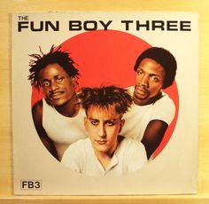 THE FUN BOY THREE - Same - mint minus - Vinyl LP - Chrysalis 1982 - Top RARE