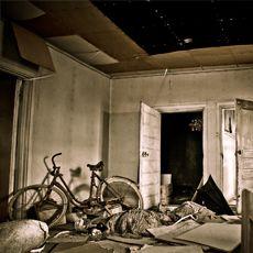 Abandoned house and an old bicycle #AteljeeAmnelin #art #photography #photographyart #artphotography #homedecor #home #interiordecor #sisustus #taide #valokuvataide #JohannaAmnelin