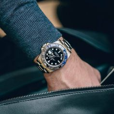 Rolex Gmt Batman, Rolex Tudor, Watches Photography, Rolex Gmt Master, Rolex Watches For Men, Rolex Submariner, Gentleman Style, Automatic Watch, Mens Fashion