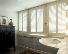 1000 Images About Shutters Bathroom On Pinterest