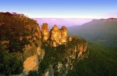 Three Sisters Blue Mountains Nationalpark Australie