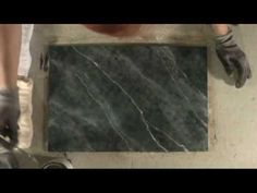 Green Marble Veining from Movie Paint, Inc.