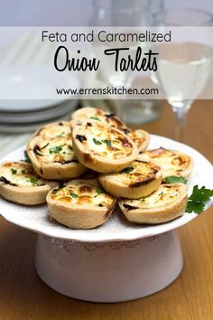 This easy recipe for Feta and Caramelized Onion Tartlets makes the perfect caramelized onion and cheesy appetizer or snack everyone will adore at any party or occasion! #Errenskitchen #snack #appetizer #cheese #cheeserecipes #partyfood #partyideas #christmas #christmassnacks #christmasdinner #starter #christmasrecipes #onion #caramelizedonions  via @Erren's Kitchen