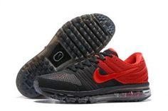 929e49ae09 Mens Nike Air Max 2017 KPU Sneakers Black Bright Red 849560 606 Mens Nike  Air,