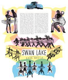 swan lake dada masilo