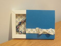 CraftyCarolineCreates: Shadow Box Gift Box Video Tutorial, Handmade using Stampin' Up UK products