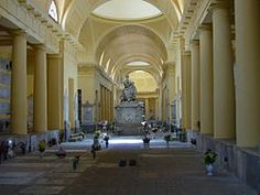The Certosa di Bologna is a former Carthusian monastery in Bologna, central Italy, which was founded in 1334 and suppressed in 1797. In 1801 it became the city's Monumental Cemetery which would be much praised by Byron and others.